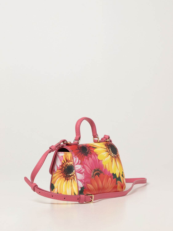 Clutch Dolce & Gabbana: Dolce & Gabbana bag in printed leather green 2
