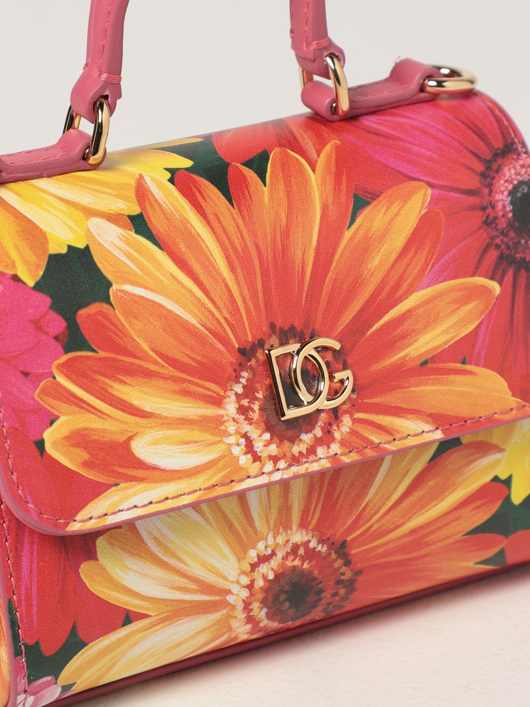Clutch Dolce & Gabbana: Dolce & Gabbana bag in printed leather green 3