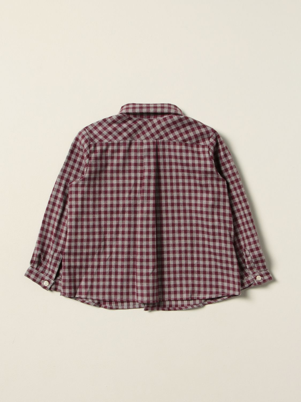 Shirt Bonpoint: Shirt kids Bonpoint burgundy 2