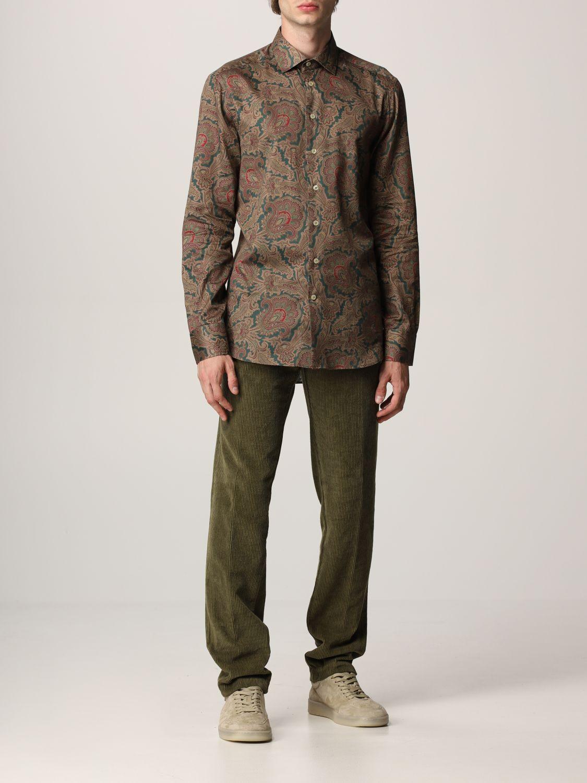 Camisa Etro: Camisa hombre Etro fantasía 2