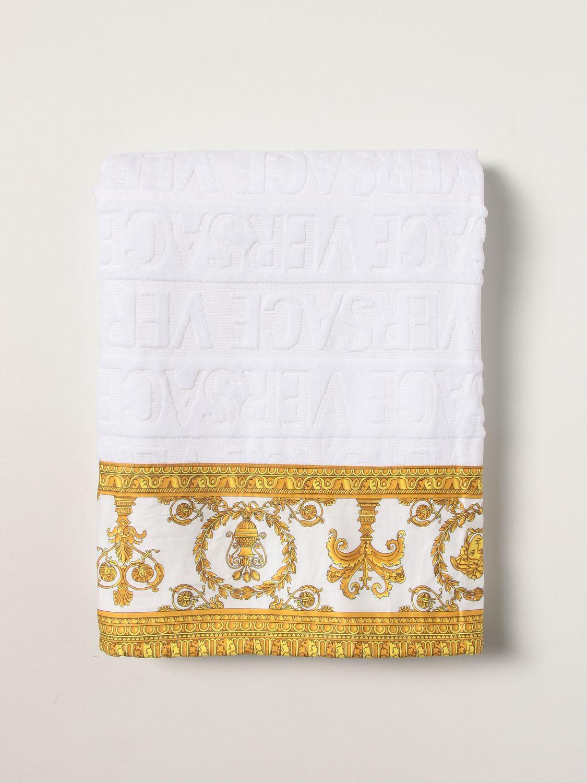 Toalla de baño Versace: Toalla de baño hombre Versace blanco 2