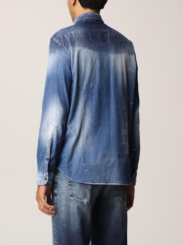 Camisa Dondup: Camisa hombre Dondup denim 2