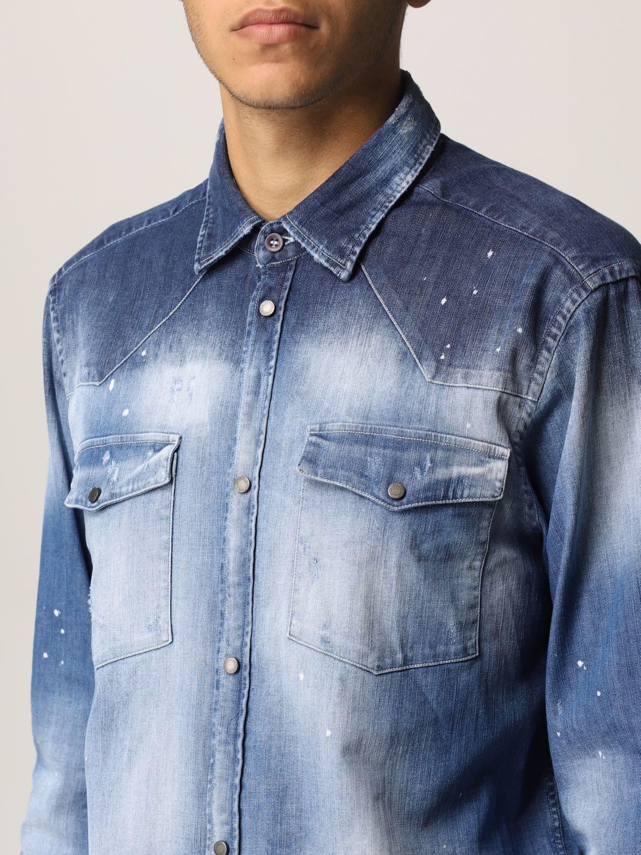 Camisa Dondup: Camisa hombre Dondup denim 3