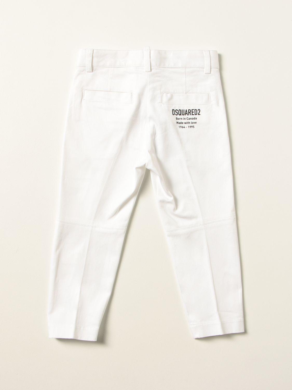 Trousers Dsquared2 Junior: Jeans kids Dsquared2 Junior white 2