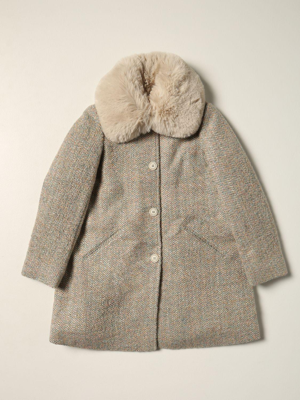 Cappotto Bonpoint: Cappotto Bonpoint di cotone verde 1
