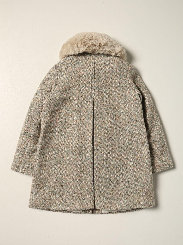 Cappotto Bonpoint: Cappotto Bonpoint di cotone verde 2