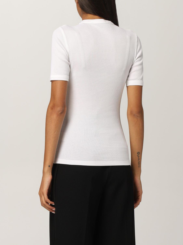 T恤 Rohe: T恤 女士 Rohe 白色 3