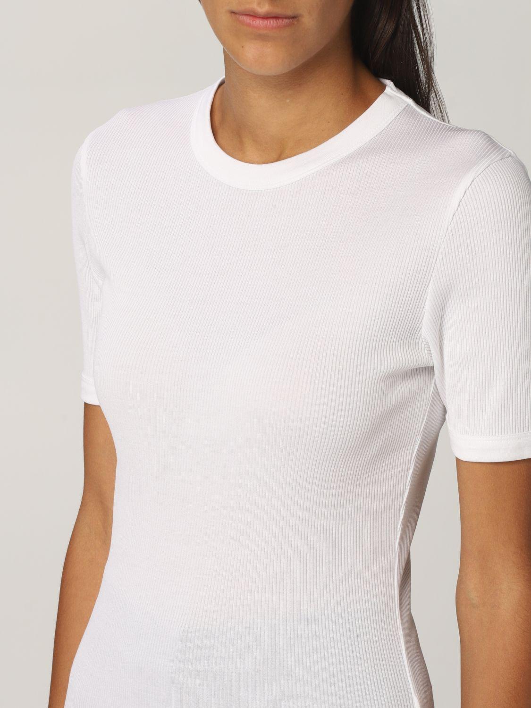 T恤 Rohe: T恤 女士 Rohe 白色 4