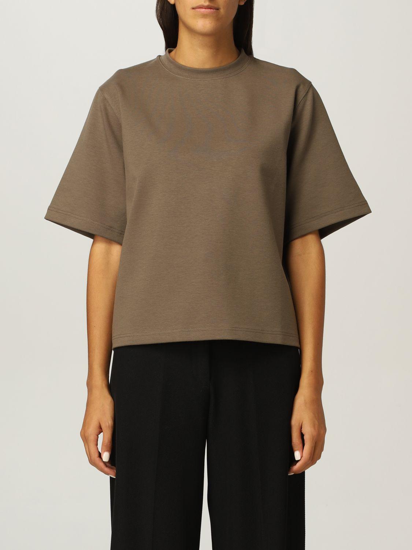 T恤 Rohe: T恤 女士 Rohe 卡其色 1