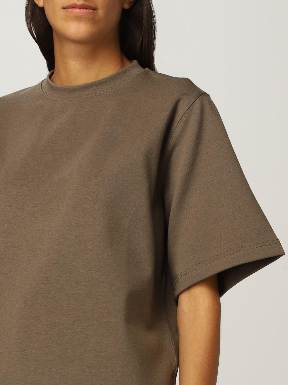T恤 Rohe: T恤 女士 Rohe 卡其色 4