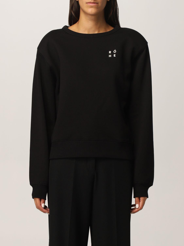 卫衣 Rohe: 卫衣 女士 Rohe 黑色 1