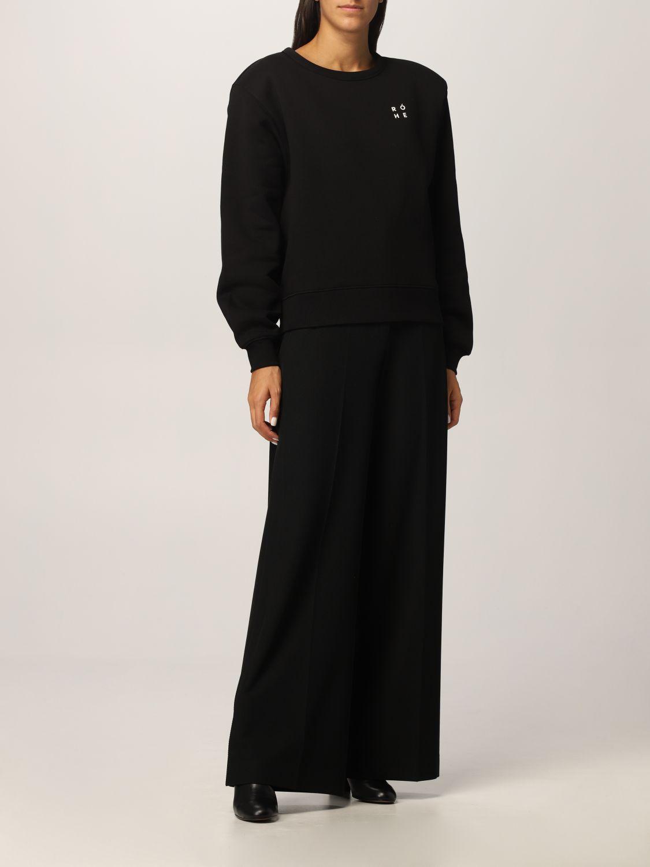 卫衣 Rohe: 卫衣 女士 Rohe 黑色 2