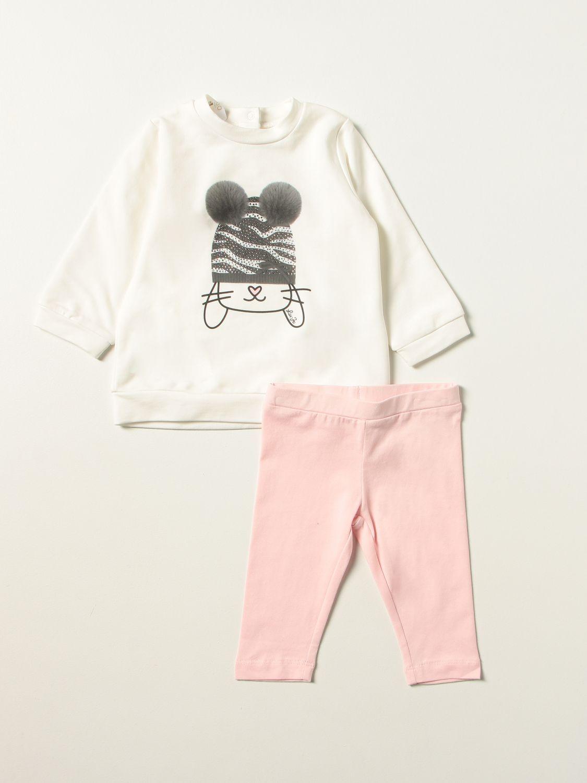Jumpsuit Liu Jo: Liu Jo jumper + leggings set with bunny white 1