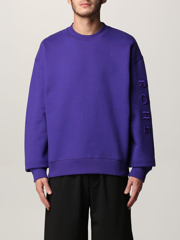 Sudadera Rohe: Sudadera hombre Rohe violeta 1