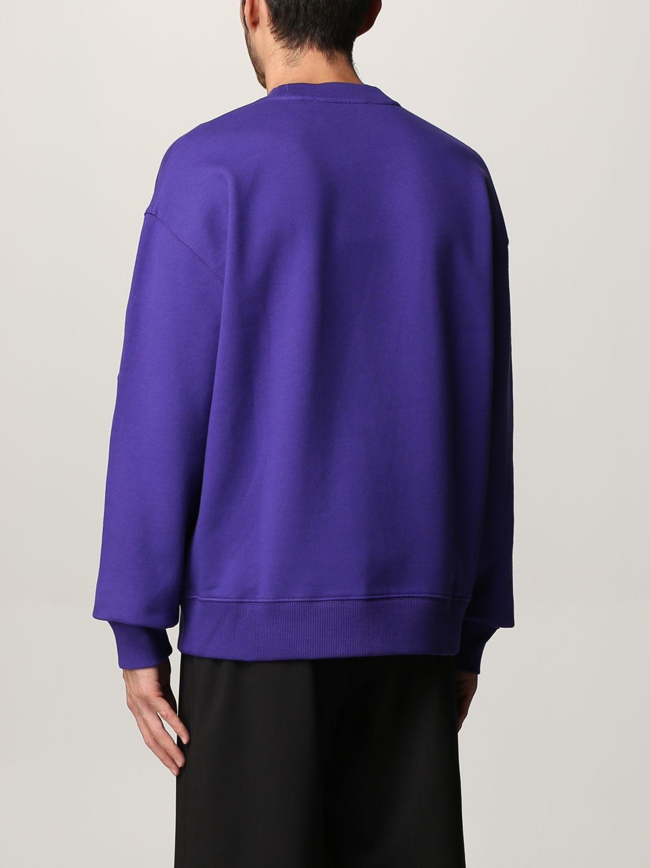 Sudadera Rohe: Sudadera hombre Rohe violeta 2