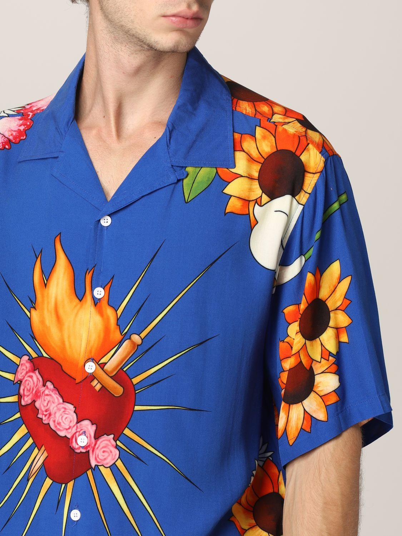 Camisa Pleasures: Camisa hombre Pleasures azul oscuro 3