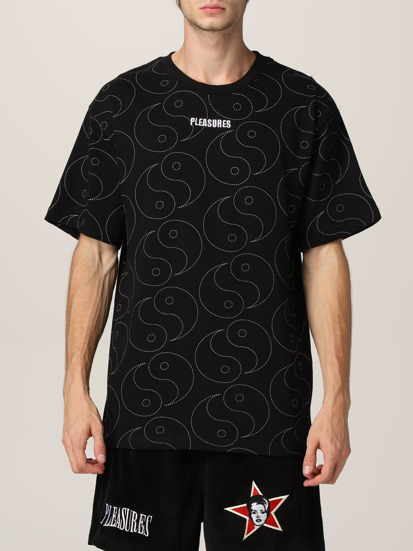 T-shirt Pleasures: T-shirt uomo Pleasures nero 1