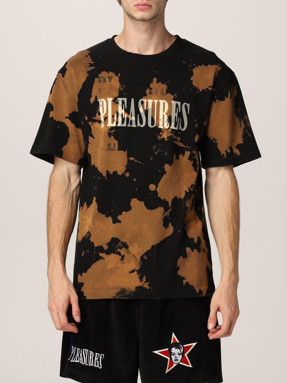 T-shirt Pleasures: T-shirt men Pleasures black 1