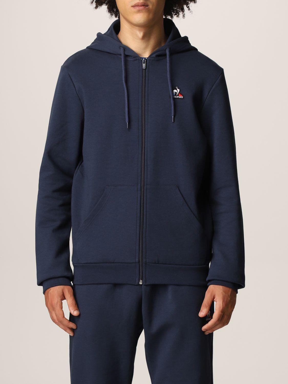 Sweatshirt Le Coq Sportif: Sweatshirt men Le Coq Sportif blue 1