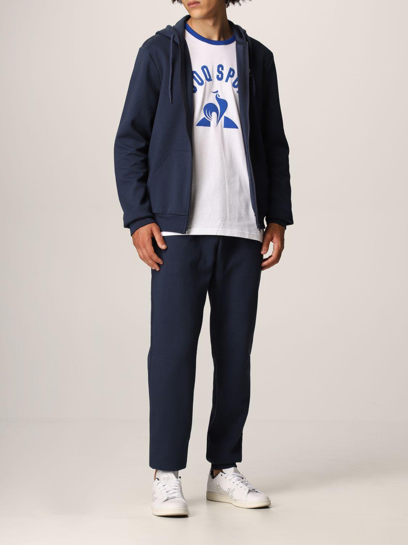 Sweatshirt Le Coq Sportif: Sweatshirt men Le Coq Sportif blue 2