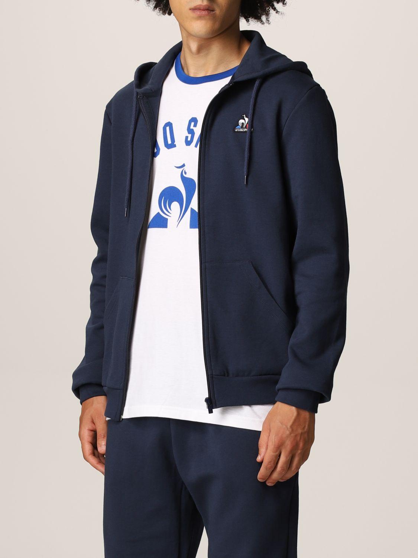 Sweatshirt Le Coq Sportif: Sweatshirt men Le Coq Sportif blue 4
