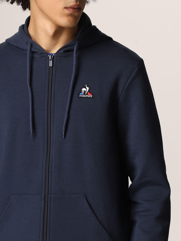 Sweatshirt Le Coq Sportif: Sweatshirt men Le Coq Sportif blue 5
