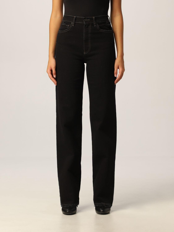 Pantalone 3X1: Pantalone donna 3x1 nero 1