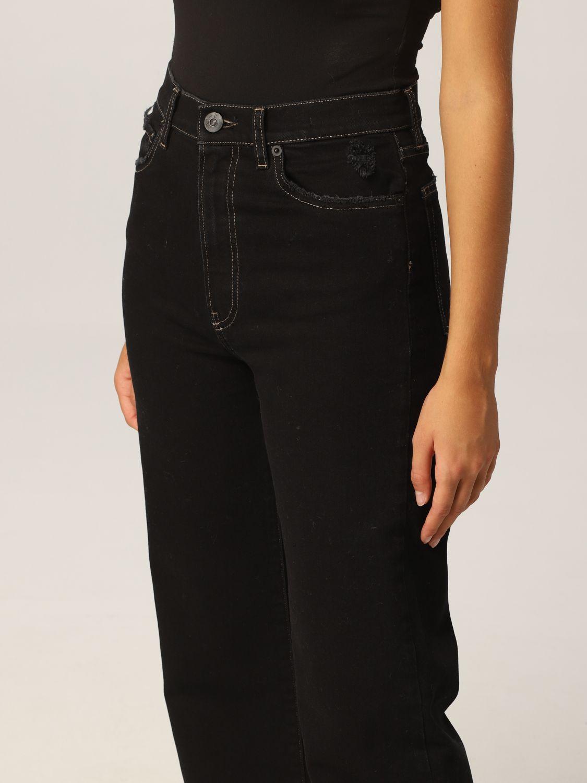 Pantalone 3X1: Pantalone donna 3x1 nero 3