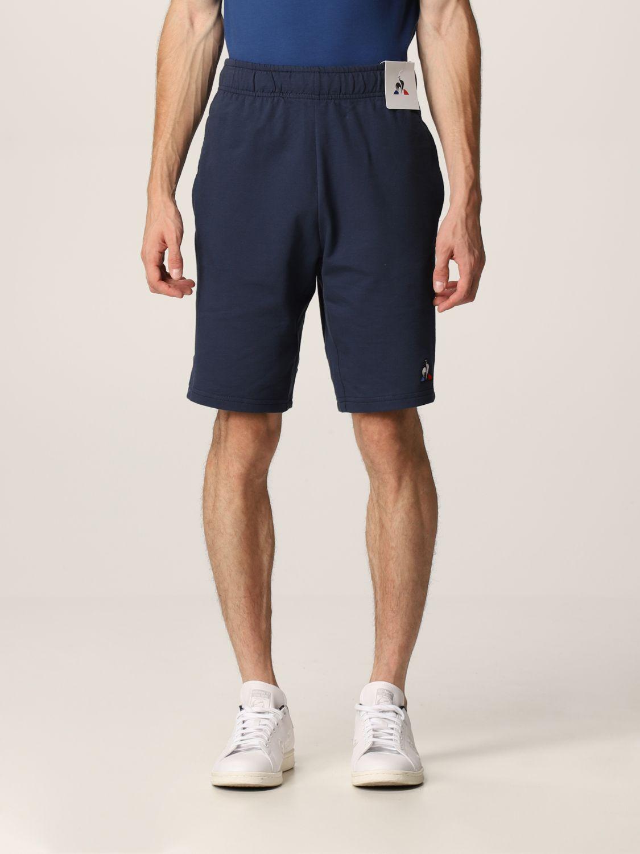 Pantalones cortos Le Coq Sportif: Pantalones cortos hombre Le Coq Sportif azul oscuro 1