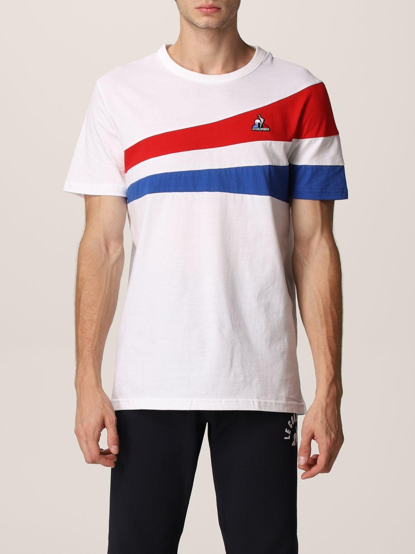 T-shirt Le Coq Sportif: T-shirt uomo Le Coq Sportif bianco 1