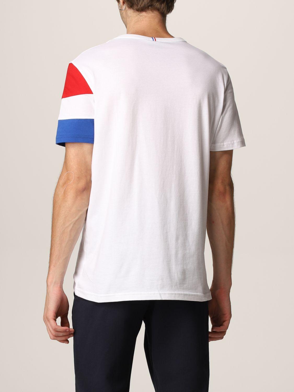 T-shirt Le Coq Sportif: T-shirt uomo Le Coq Sportif bianco 2
