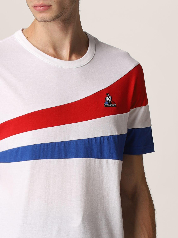 T-shirt Le Coq Sportif: T-shirt uomo Le Coq Sportif bianco 3