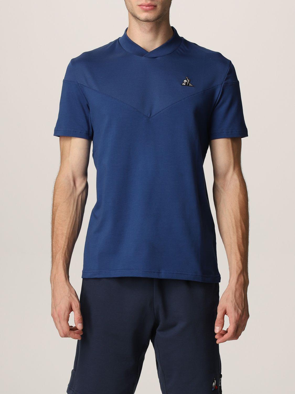 T-shirt Le Coq Sportif: T-shirt men Le Coq Sportif royal blue 1