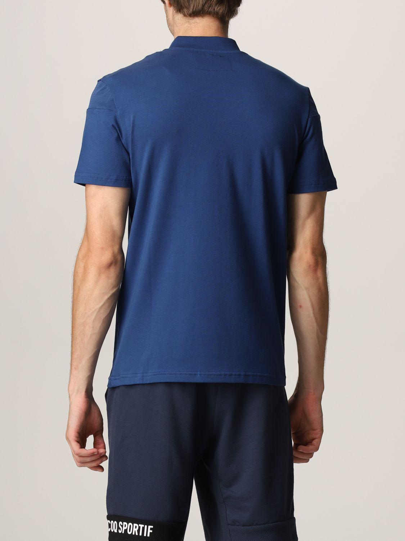 T-shirt Le Coq Sportif: T-shirt men Le Coq Sportif royal blue 2