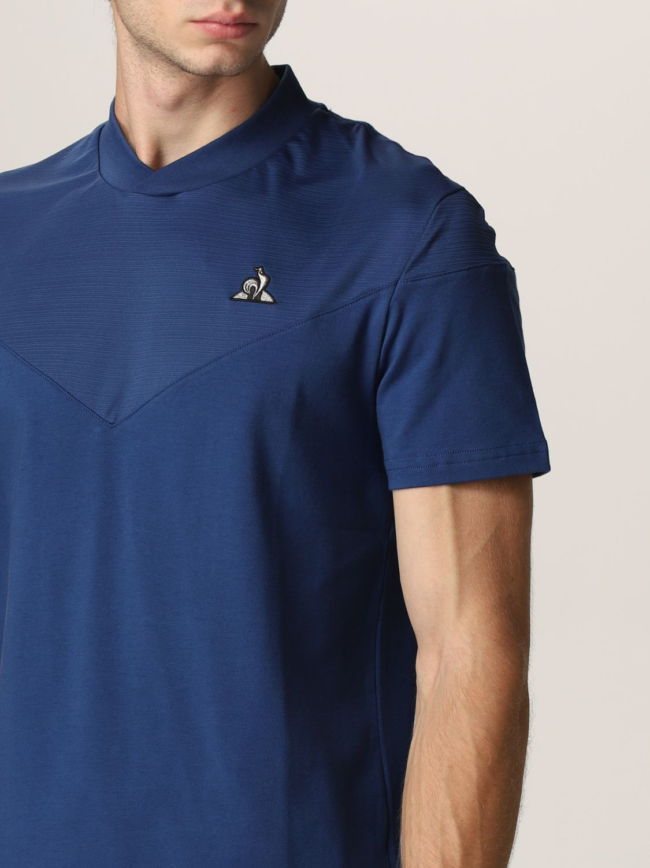 T-shirt Le Coq Sportif: T-shirt men Le Coq Sportif royal blue 3