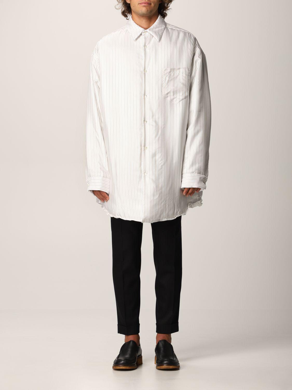 Camisa Maison Margiela: Camisa hombre Maison Margiela blanco 1