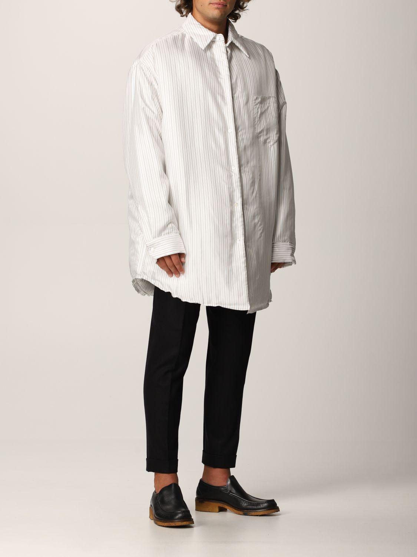 Camisa Maison Margiela: Camisa hombre Maison Margiela blanco 2