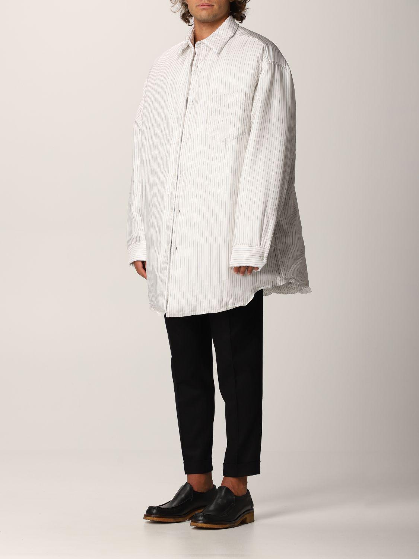 Camisa Maison Margiela: Camisa hombre Maison Margiela blanco 4
