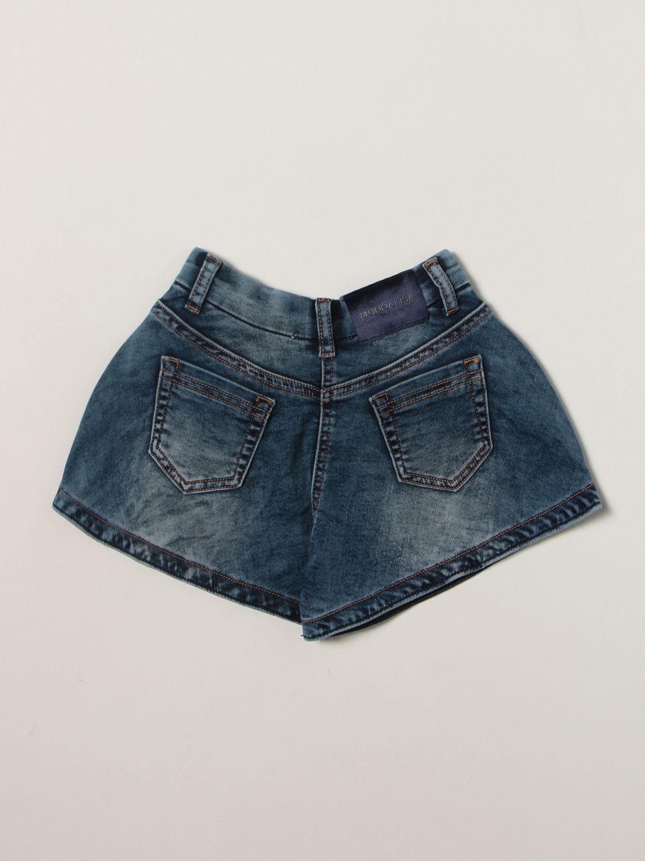 Jeans Monnalisa: Pantaloncino bambino Monnalisa blue 2