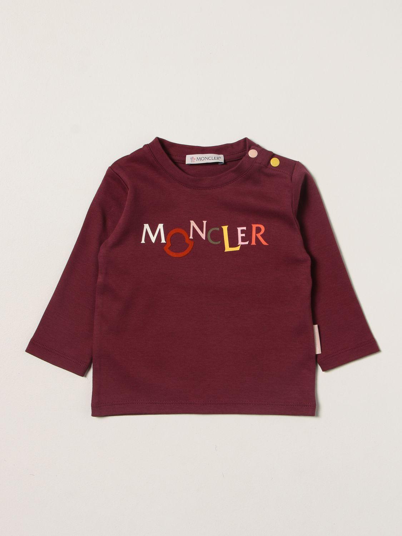 Pack Moncler: Pack kids Moncler burgundy 1