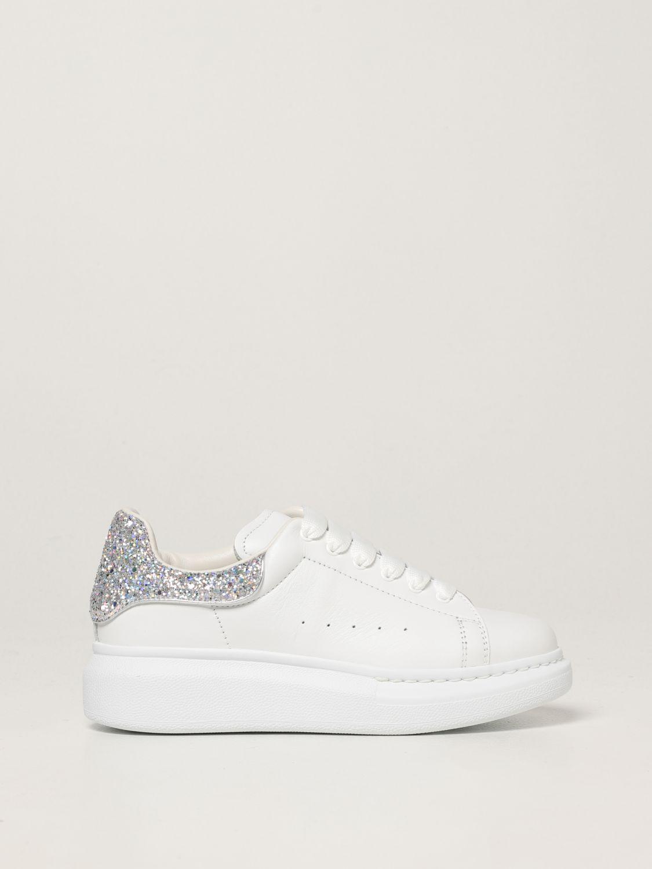 Обувь Alexander Mcqueen: Обувь Детское Alexander Mcqueen белый 1