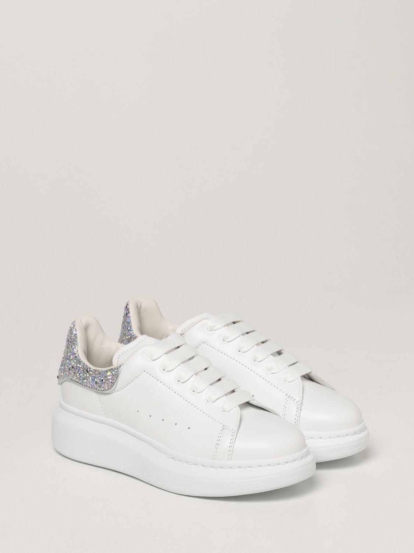 Обувь Alexander Mcqueen: Обувь Детское Alexander Mcqueen белый 2