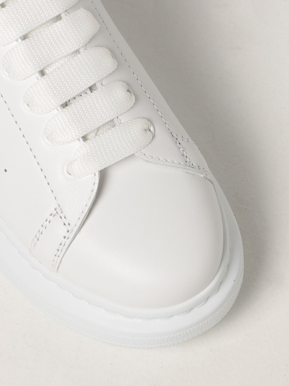 Обувь Alexander Mcqueen: Обувь Детское Alexander Mcqueen белый 4