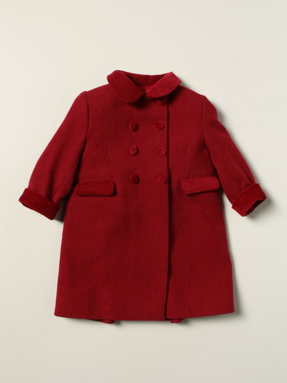 Coat Siola: Coat kids Siola red 1