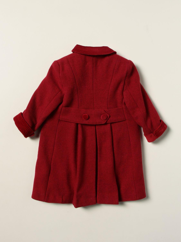 Coat Siola: Coat kids Siola red 2