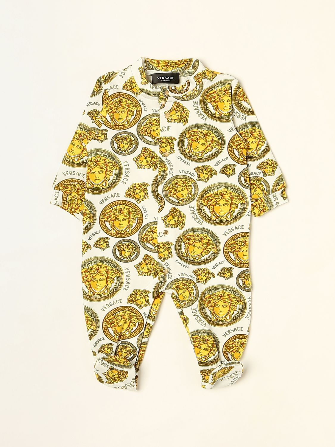 Bodysuit Young Versace: Bodysuit kids Versace Young white 1