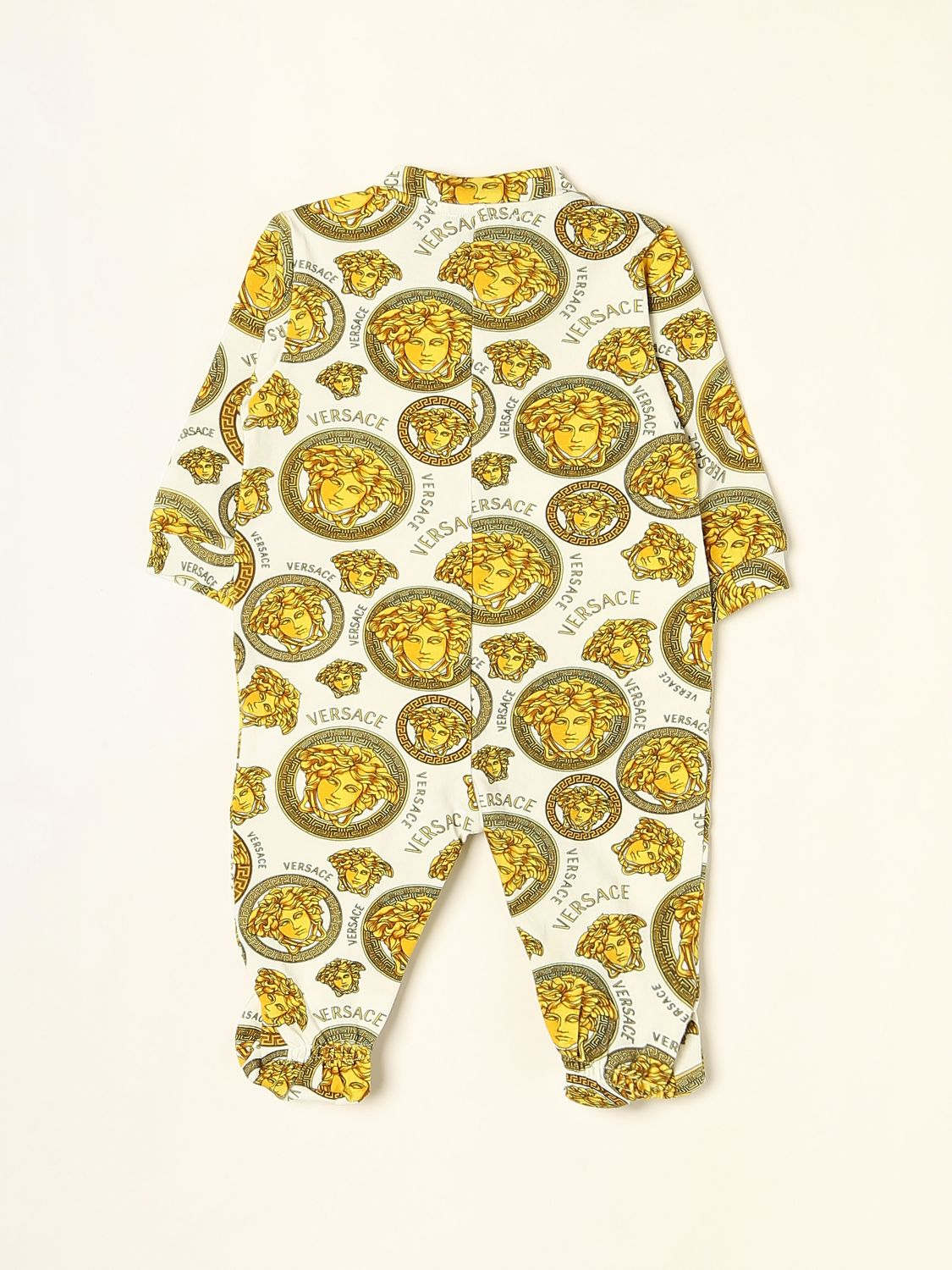 Bodysuit Young Versace: Bodysuit kids Versace Young white 2