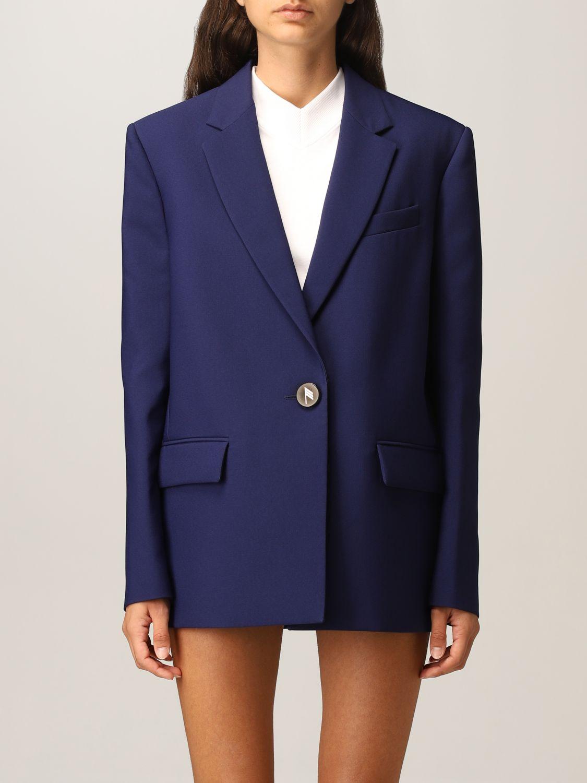 Blazer The Attico: Blazer damen The Attico blau 1