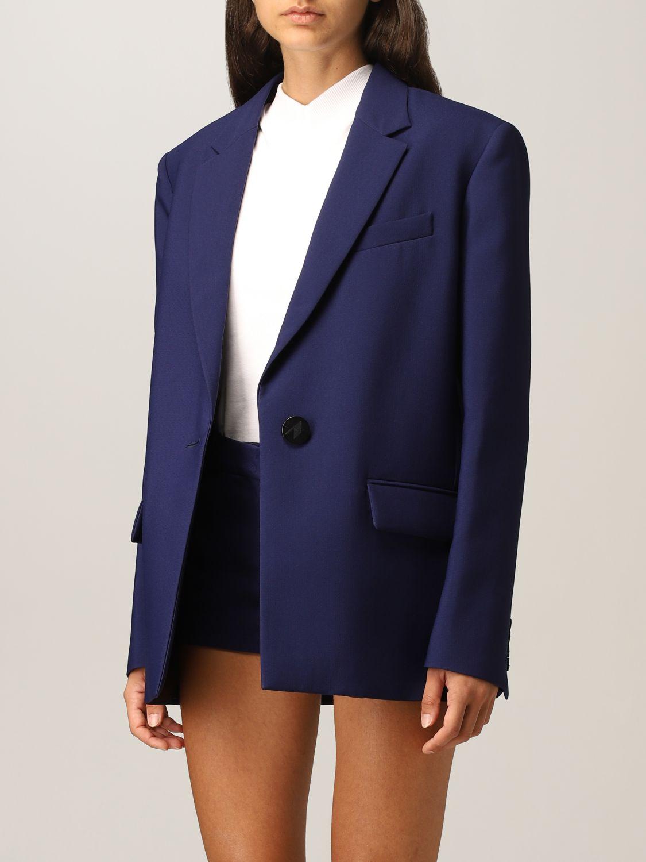 Blazer The Attico: Blazer damen The Attico blau 4