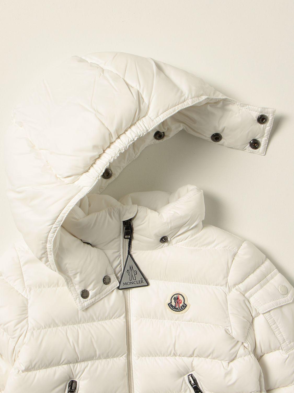 Giacca Moncler: Giubbotto Moncler in nylon bianco 3